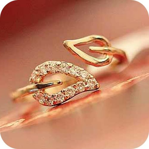 leaves open adjustable ring