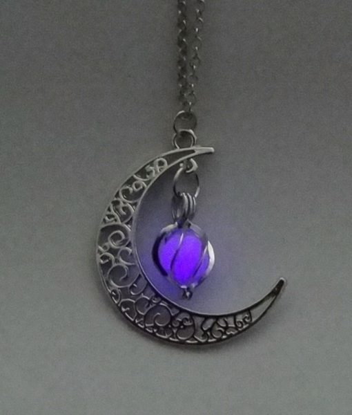 Luminous Moon Pearl Necklace