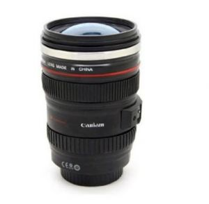 DSLR camera coffee mug