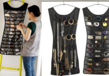 Jewellery Organizer dress shape