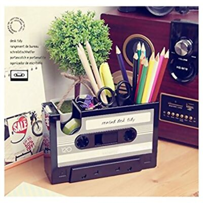 rewind-cassette-tape-stationery-holder