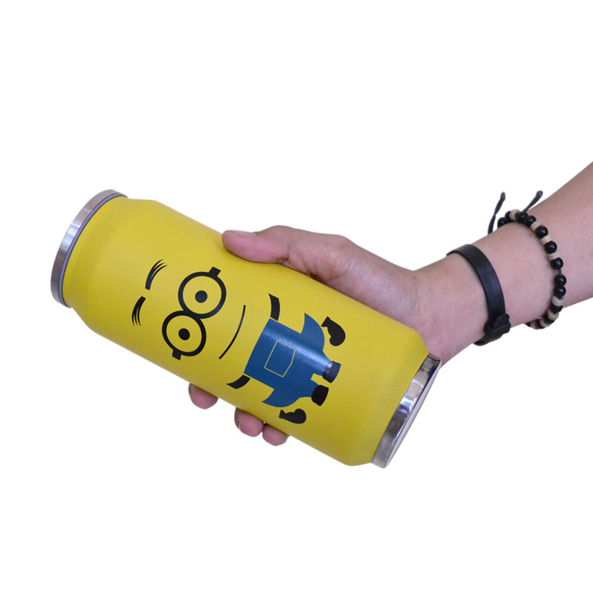 Botol-Minum-Termos-Serbaguna-Insulated-Mug-500ml-minion-04