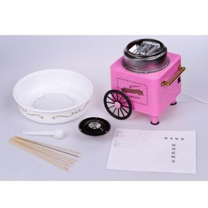 Electric Mini Sweet cotton candy maker-2
