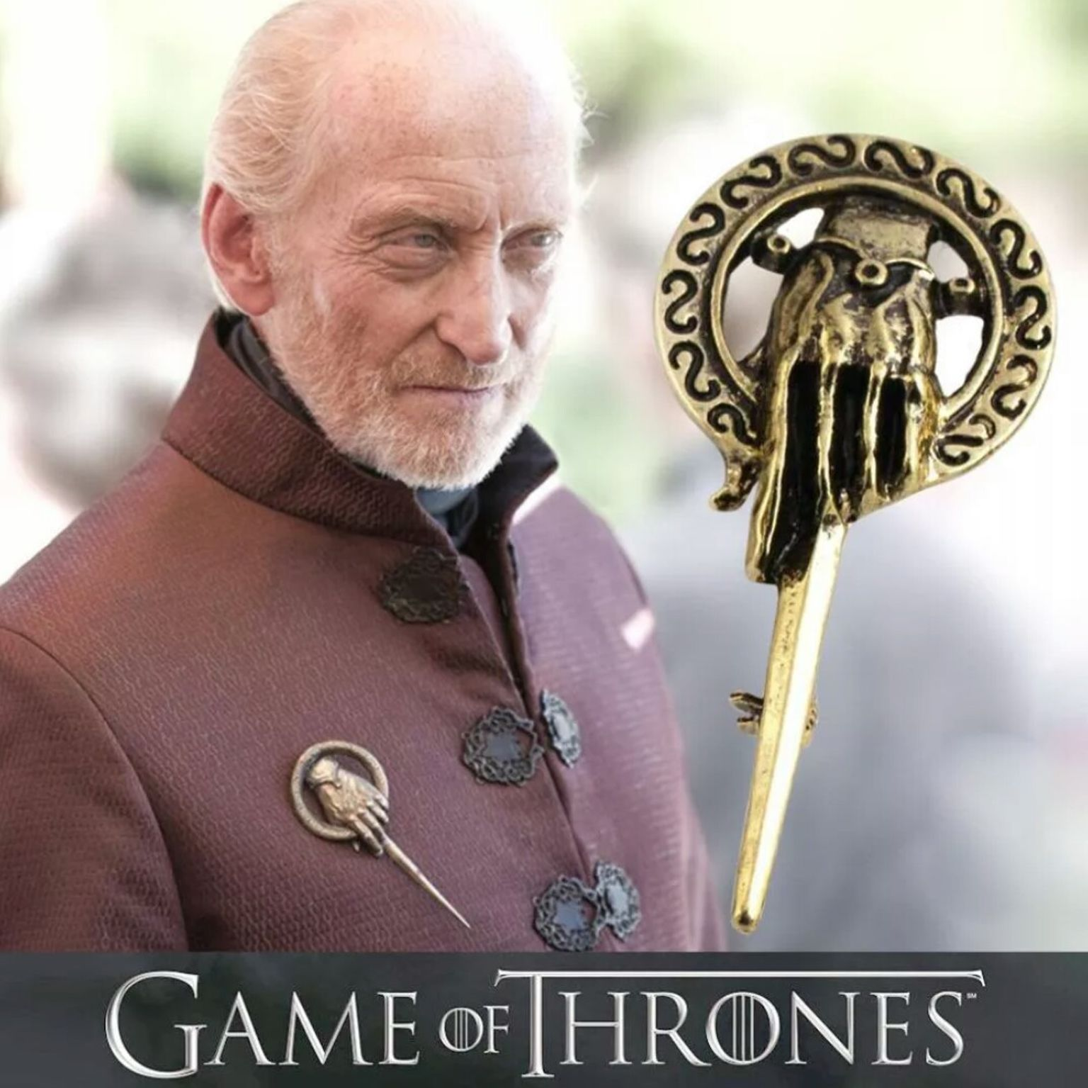Game Of Thrones Hand To The King Pin Badge Buy Unique