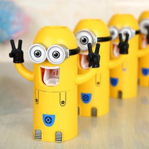 minion toothbrush holder