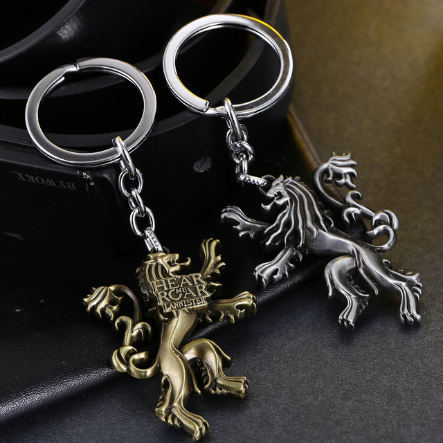 HEAR ME ROAR LANNISTER Keychain Game Of Thrones