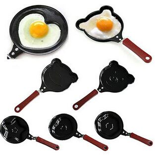 Omelette Designer Mini Egg Pan - Mini Poele ( Design May very)-teddy
