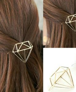 hairpin-diamond shape