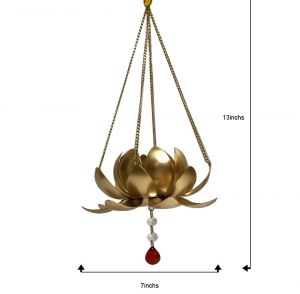 Hanging lotus tealight 2