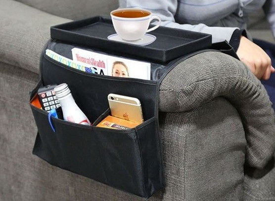 6 Pocket Arm Rest Organizer With Table Top Buy Unique
