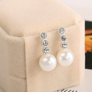 Pearl-rhinestone-earrings