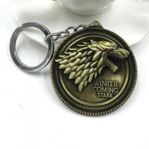 winter is coming key chain