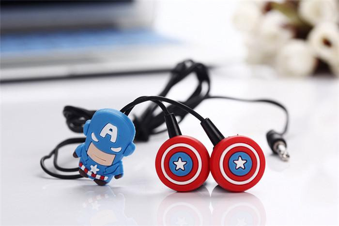 Captain America Earphones