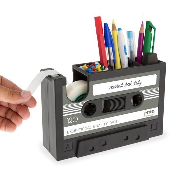 rewind-cassette-tape-stationery-holder-black