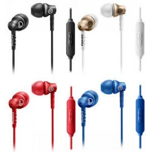 multi color earphones