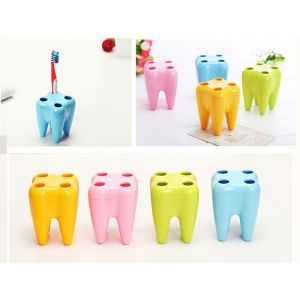 tooth brush holder tooth shaped