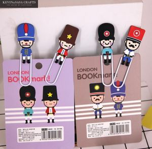 London Soldiers Paper Clips