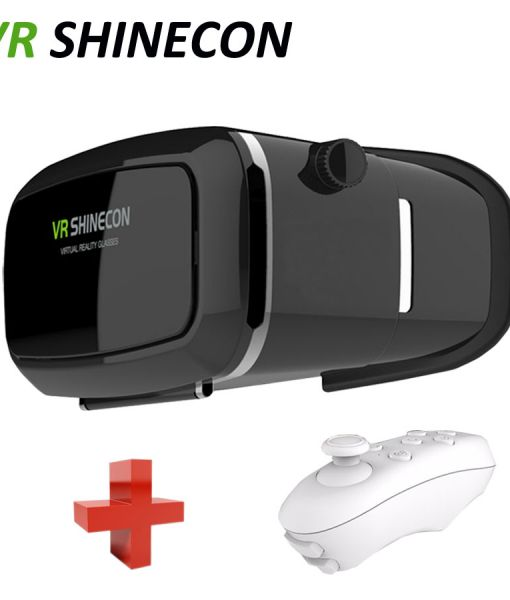 Google-goggles-Cardboard-VR-shinecon-Pro-smartphone-VR-realidade-Virtual-Reality-gafas-3d-Glasses-helmet-Remote
