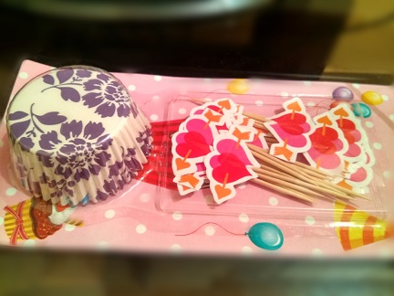 HEART PAPER CUP CAKE