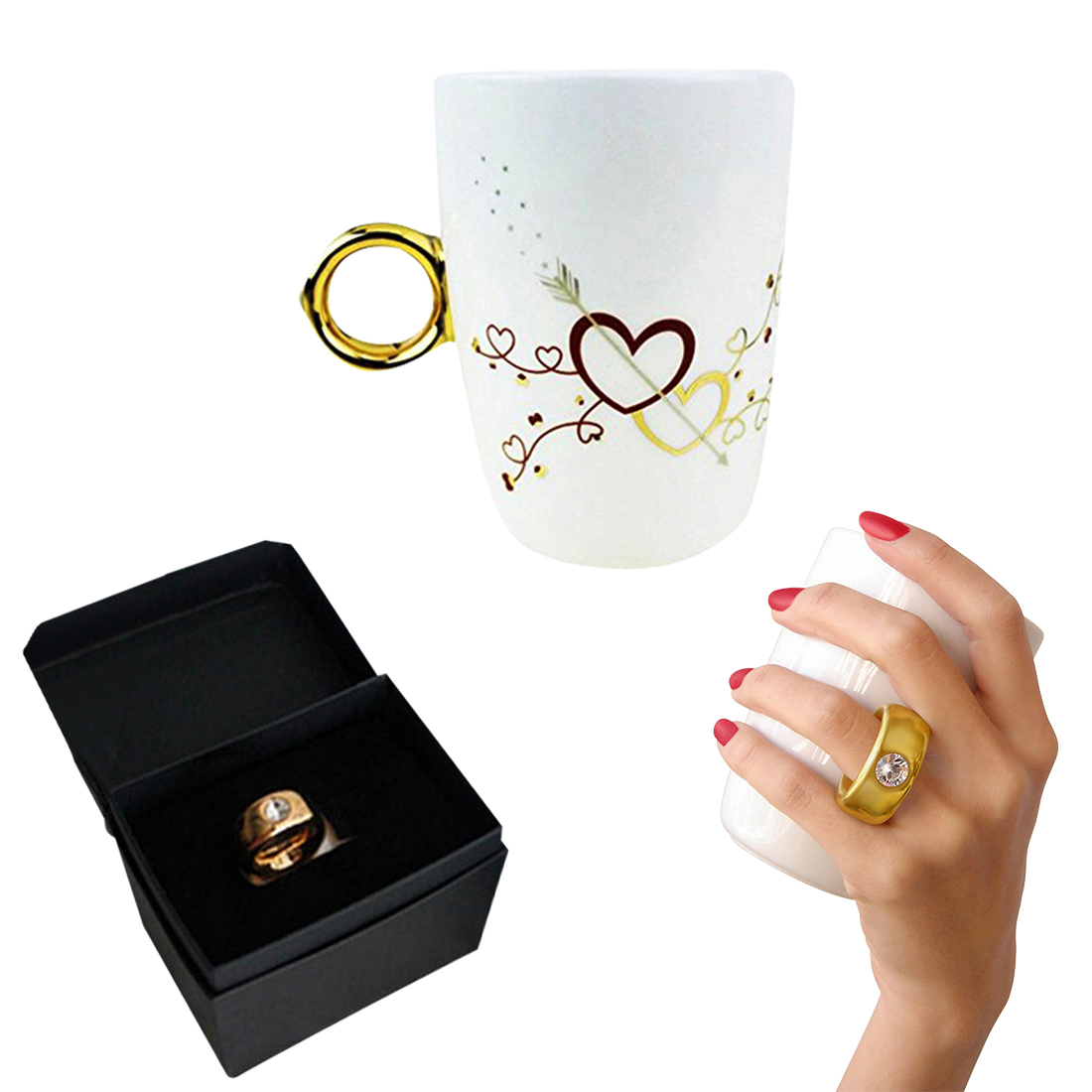 couple ring cup
