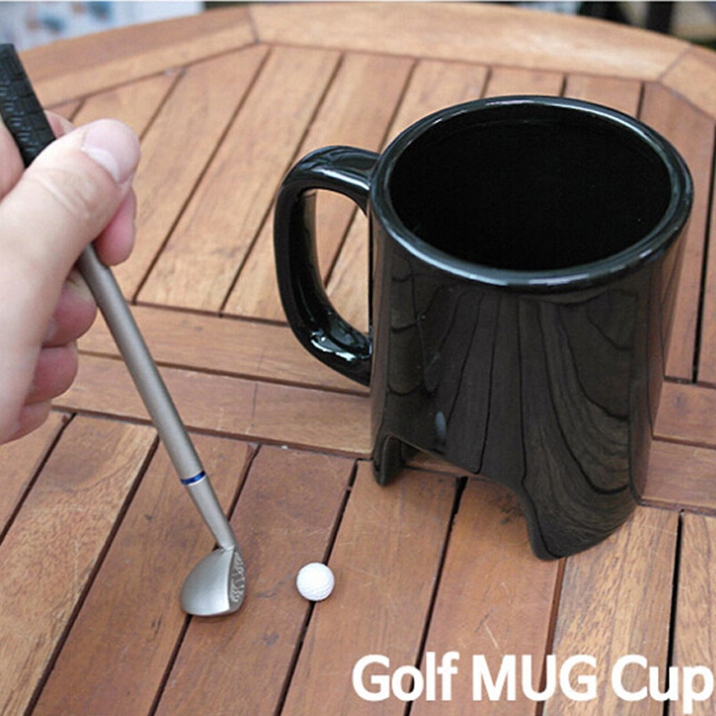 golf mug stick ball