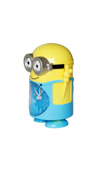 minion-side clock