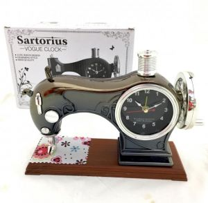 sewing machine desk clock