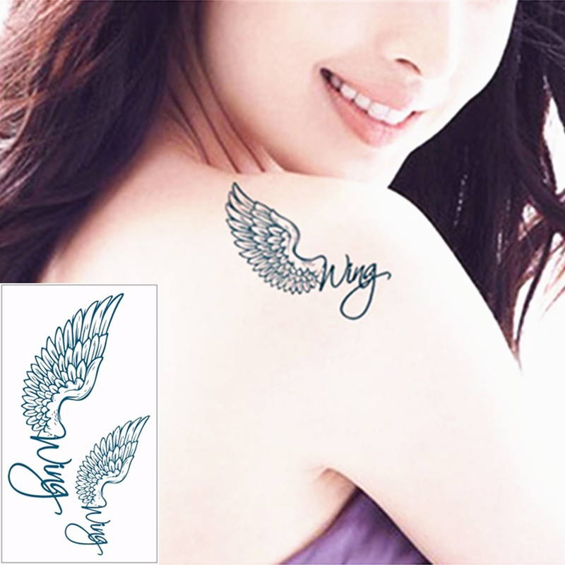 Angel Wings - Temporary Body Tattoo - Quirky Gifts to india | Cool ...