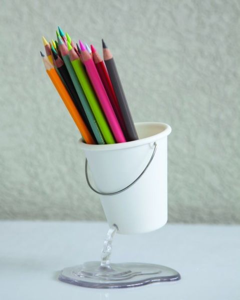 DESK BUCKET ORGANIZER