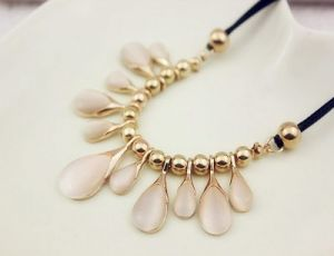 opal crystal necklace