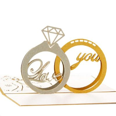 Love You Ring card