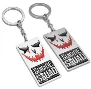 Suicide Squad Joker Key ring Keychain