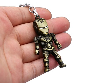 Iron Man Metal Keychain