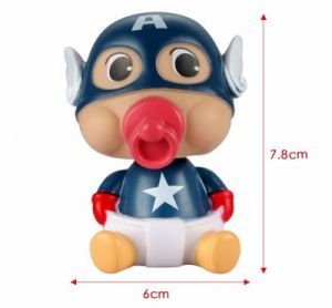captain america bobble head
