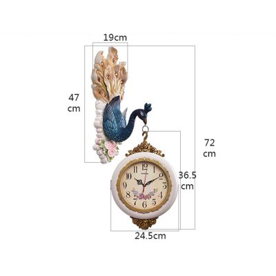Peacock Wall Clock