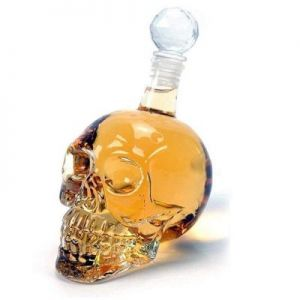 Skull head decanter