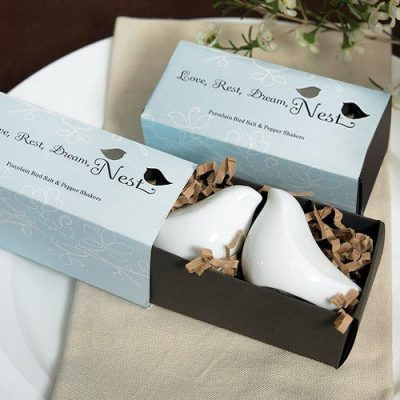 Love bird salt and pepper shaker