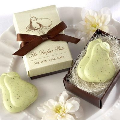 scented pear soap