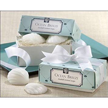 Ocean Breeze Shell Soap Favors