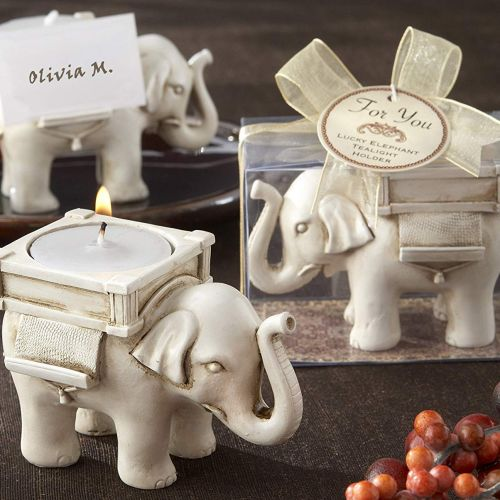 Elephant Tea Light Holder - Indian Return Gift