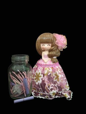 Secret Messenger Doll