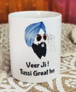 Veer ji tussi great ho mug