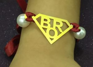 Super Man Sign Bro Rakhi