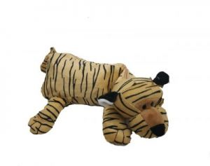 Tiger Plush Pouch