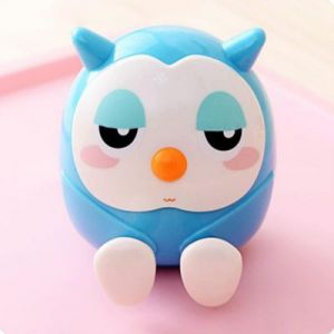 blue 3 in 1 owl holder