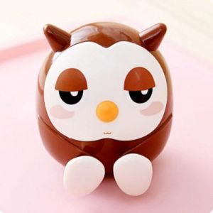 brown 3 in 1 owl holder