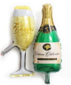 Champagne Bottle Balloon