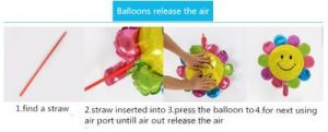 Balloon Inflate Tips