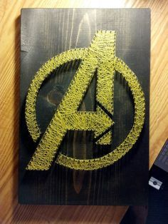 avenger string art