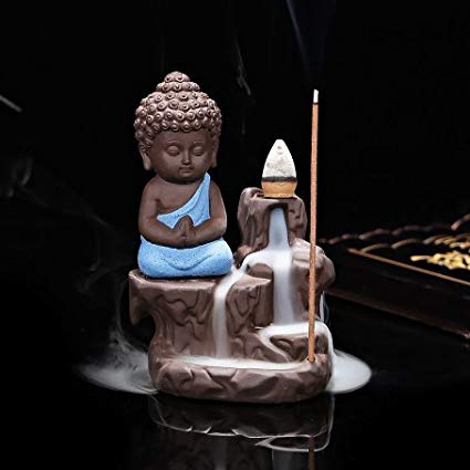 Blue budha burner